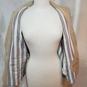 🔥Zara Basic Blazer, Beige, Women's size XL